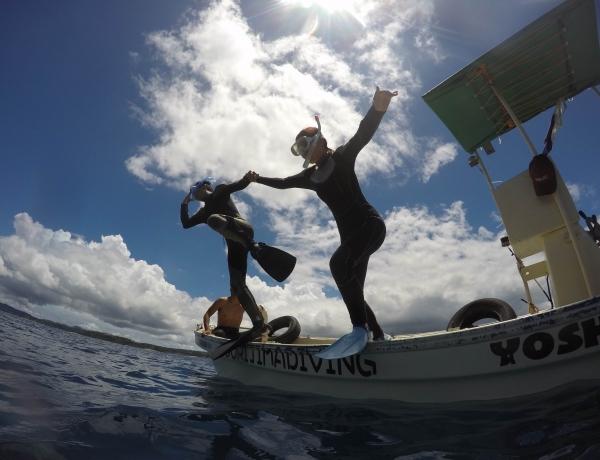 貸し切りボート シュノーケル&体験ダイビング