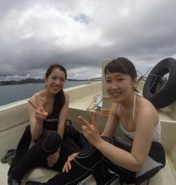 貸し切りボート 体験ダイビングツアー