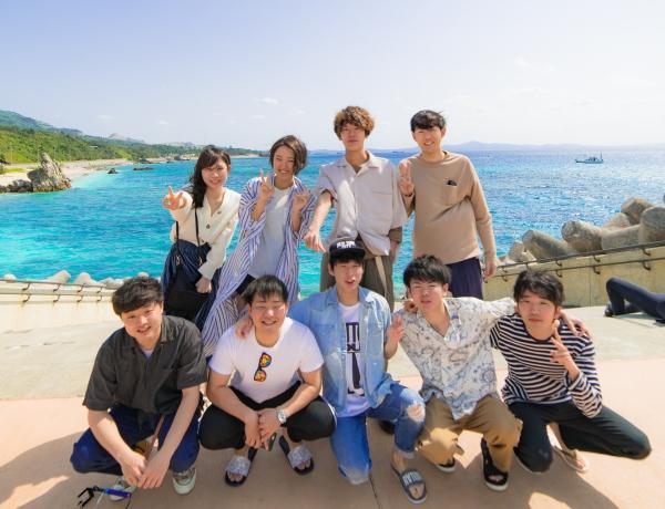 3/14 沖縄北部 シュノーケリング-卒業旅行でわいわいと!!