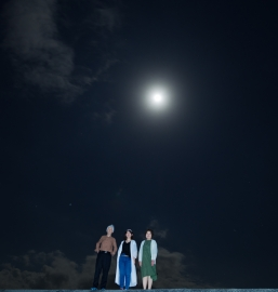 4/17 古宇利島 星空ツアー 月と一緒に!