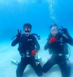 3/6 沖縄北部 体験ダイビング-初体験のおふたりさま♡-