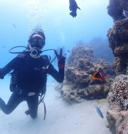 5/3沖縄北部 シュノーケリング&体験ダイビング GW7日目 ご家族でもおひとり旅でも海遊び♡