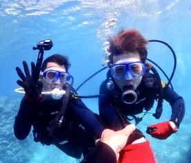 5/21 沖縄北部 ビーチ体験ダイビング!