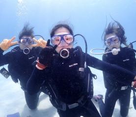 3/13 沖縄北部 体験ダイビング-女子旅のみなさま✨